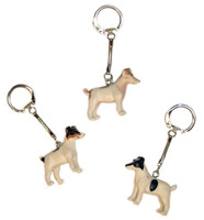 Soapie Jack Russell Key Ring