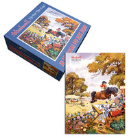 Thelwell Up For the Cup, 3D Lenticular 500 Piece Puzzle