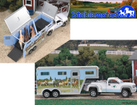 Stablemates Pickup and Gooseneck Trailer