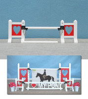 Mini Love Jump  from Model Horse Jumps