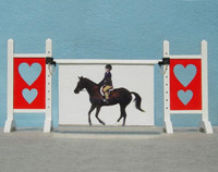 Love Frame from Model Horse Jumps