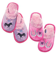 Carstens Horseshoe Slippers, Size Small Only
