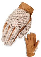 Heritage Crochet Riding Glove, Sizes 3 - 7