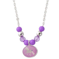 Purple Pony Parade Necklace