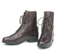 Ovation Sport Laced Paddock Boots, Childs Sizes 8 - 4