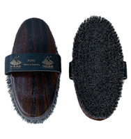 Haas Natural Fiber Pony Brush