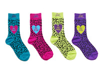 Ovation Pony Cheetah Socks - Childs