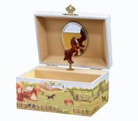 Country Horse Musical Treasure Box