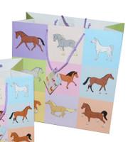 Pastel Horses Gift Bag, Large