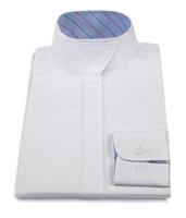 RJ Classics Children's Snap Collar Shirt , White, Sizes 10 & 16 Only