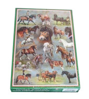 Horse and Pony Breeds 500 Piece Jigsaw Puzzle