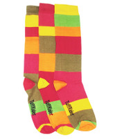 TuffRider Block Party Childs Socks, Pack of 3 Socks