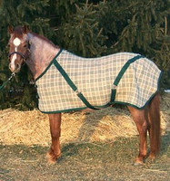 """Bengal Stable Sheet, Forest Plaid, 54"""", 56"""" & 74"""" Only"""