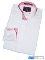 Beacon Hill 'Diamond Ridge' Shirt, White/Pink, Size 6 Only