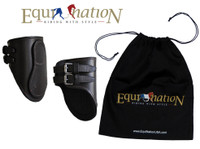 EquiNation Leather Ankle Boots - Three Pony Sizes
