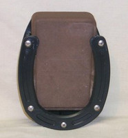 Horseshoe Salt Block Holder