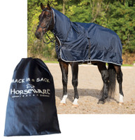 Rambo Mack in a Sack, Pony Rain Sheet, 3 Sizes