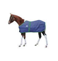"42""-57"" Weatherbeeta Foal Stable Blanket, Navy with Hunter Trim"