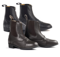 Ovation Sport Rider II Zip Paddock Boots, Childs Sizes 10 - 5