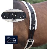 Shires Fleece-Lined Training Surcingle, Pony & Cob