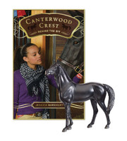 Canterwood Crest's Book 3 'Behind the Bit' with Breyer Model Black Jack