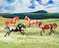 Breyer Stablemates Horse Crazy Real Horse Gift Set