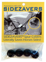 Sidezavers Spur Covers, Pack of 4