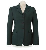RJ Classics Washable Green Herringbone Show Coat, Sizes 2 - 16