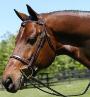 Beval Wide Caveson Heritage Bridle, Pony & Cob