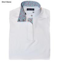 Essex Classics Talent Yarn Girls Short Sleeve Shirt, Valentina, Sizes S - XL