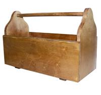 Wooden Grooming Tote
