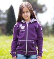 Horseware Kids Hoody, Purple Size 7/8 Only