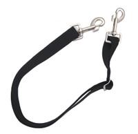 Equi-Essentials Adjustable Elastic Leg Straps, Two Bolt Snaps, Pair