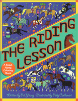 The Riding Lesson - A Read-Along Coloring Book