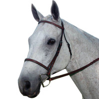 Kincade Plain Raised Bridle, Pony & Cob