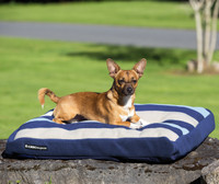 Horseware Rambo Deluxe Dog Bed, Three Witney Stripe Colors