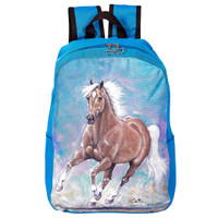 Lila Palomino Horse Backpack