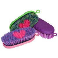 Tail Tamer Soft Touch Oval Brush with a Heart