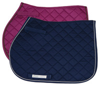 Amigo Saddle Pad, Pony/Cob, Magenta/Thyme and Navy/Silver