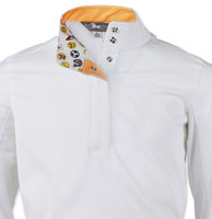 RJ Classics Rebecca Jr Shirt - White with Emojis, XS - XL