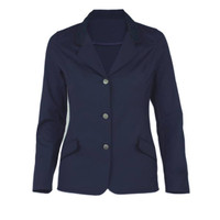 Kathryn Lily Harrisburg Coat, 3-Button, Navy, Sizes 2 - 14