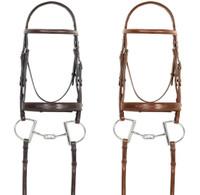 Pessoa PRO Fancy Stitched Wide Noseband Bridle, Pony &  Cob