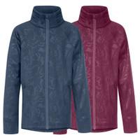 Kerrits Kids Flex Fleece Jacket, Berry & Denim