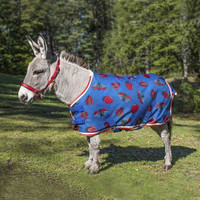 "Shires Mini Highlander Medium Blanket, Ladybug Print, 33"" - 45"""