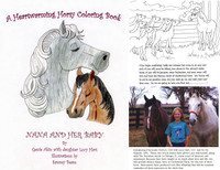 Nana and Her Baby Story & Coloring Book