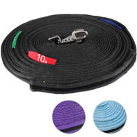 Kincade Two-Tone Lunge Line with Circle Markers, 3 Colors