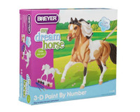 Model Horse 3-D Paint by Number Kit