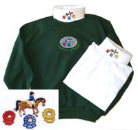 Ribbons  Embroidered Turtleneck, XL & XXL Only