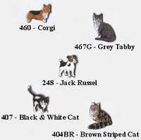 Kelley Collectable Pins - Cats