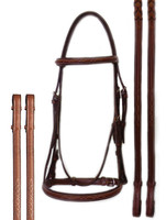 Bobby's Platinum Series Raised, Fancy Bridle